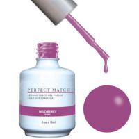 LeChat UV/LED Gel Polish Perfect Match Duo Gel 2 x 15ml - Wild Berry